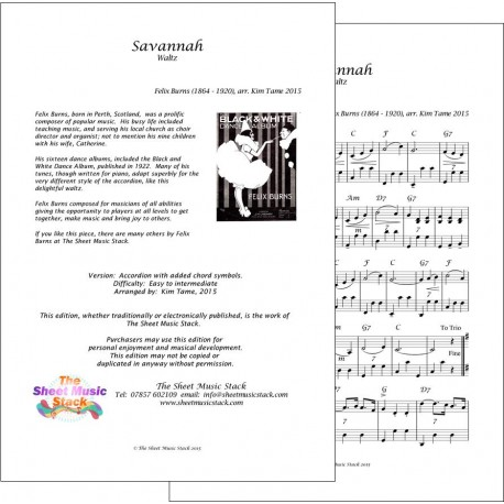 Savannah - Accordion