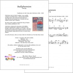 Ballybunnion jig - Felix Burns - lead sheet