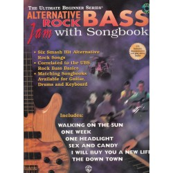 Alternative Rock Bass Jam with Songbook, Ultimate Beginner series