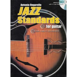 Jazz Standards for guitar, Antonio Ongarello