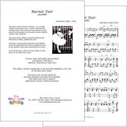 Barnet Fair - Felix Burns - Piano