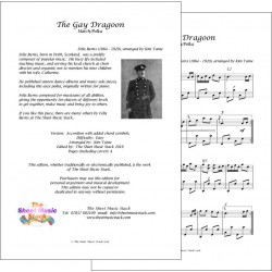 The Gay Dragoon March - Felix Burns - Accordion