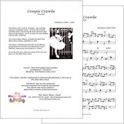 Creepie-crawlie - Felix Burns - Piano