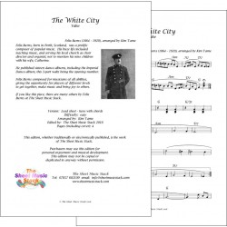 The White City - Felix Burns - Lead sheet
