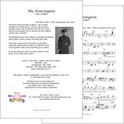 The Kensington - Felix Burns - Lead sheet