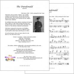 The Dundonald - Felix Burns - Lead sheet