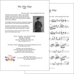 The Flip Flap - Felix Burns - Lead sheet