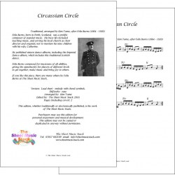Circassian Circle - Felix Burns - lead sheet