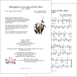 Almighty Sovereign of the Skies - Accordion