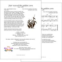 Fair waved the golden corn (Ceres) - Accordion