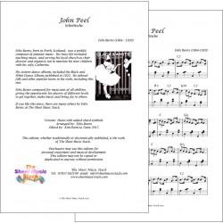 John Peel - Felix Burns - Piano