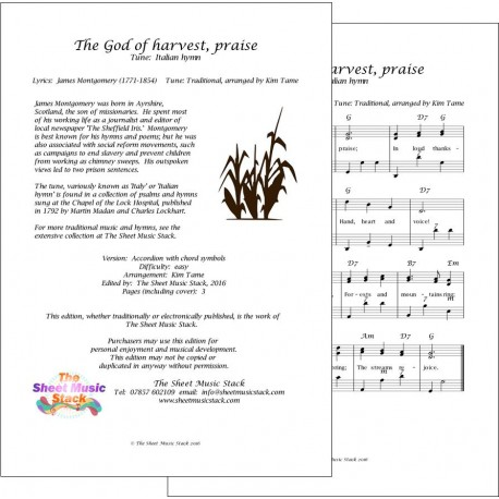 The God of Harvest Praise (Italy) - Accordion