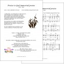 Praise to God Immortal Praise (Taxa) - Accordion