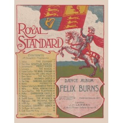 Felix Burns' Royal Standard Dance Album - Piano