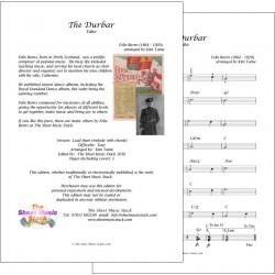 The Durbar - Felix Burns - lead sheet
