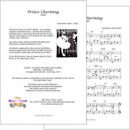 Prince Charming - Felix Burns - Accordion