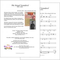 The Royal Standard - Felix Burns - lead sheet