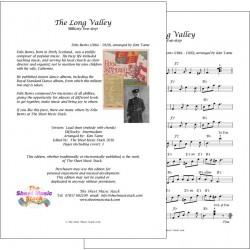 The Long Valley - Felix Burns - lead sheet