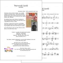 Warwick Castle - Felix Burns - lead sheet
