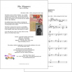 The Flappers - Felix Burns - lead sheet