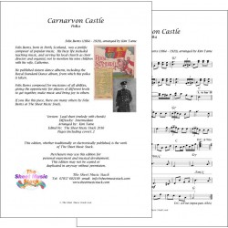 Carnarvon Castle - Felix Burns - lead sheet
