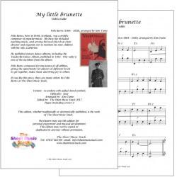 My little brunette - Felix Burns - accordion