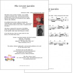 Covent Garden - Felix Burns - lead sheet