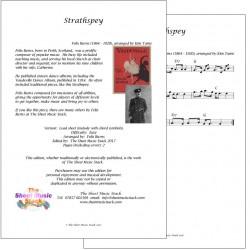 Strathspey - Felix Burns - lead sheet