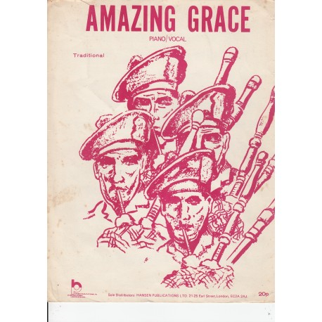 Amazing Grace - Lou Leaman - sheet music