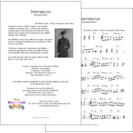 Intermezzo - Felix - Burns - Lead Sheet