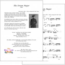 The Drum Major - Felix Burns - Lead sheet