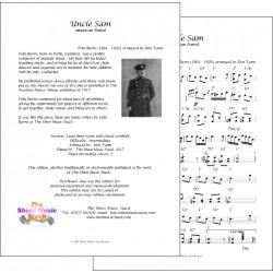 Uncle Sam - Felix Burns - Lead sheet