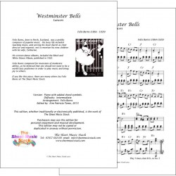 Westminster Bells - Felix Burns - Piano
