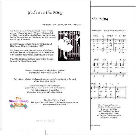 God save the King - Felix Burns - Accordion