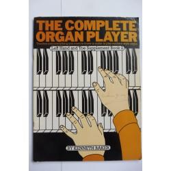 Complete organ player left hand toe supplement bk 2 Kenneth Baker