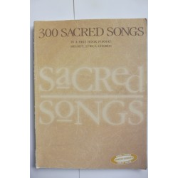 300 Sacred Songs Fakebook Lead sheets