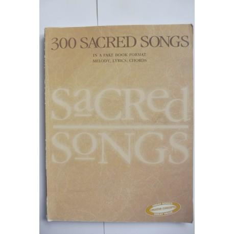 300 Sacred Songs Fakebook Lead sheets