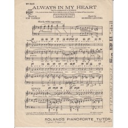 Always in my heart - Gannon/Lecuona