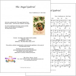 The angel Gabriel - Accordion