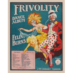 Felix Burns' Frivolity Dance Album - Lead sheets