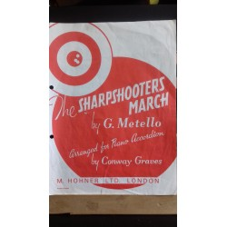Sharpshooters' March - accordion solo - Metello arr Graves
