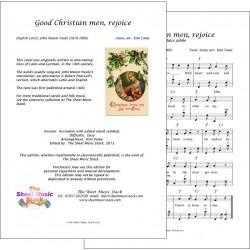 Good Christian men rejoice - Accordion