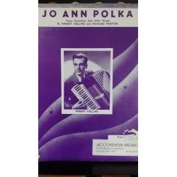 Jo Ann Polka - accordion solo - Collins & Trotter