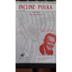 Incline Polka- accordion sheet music - Tebar