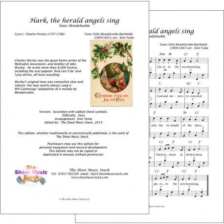 Hark the herald angels sing - Accordion
