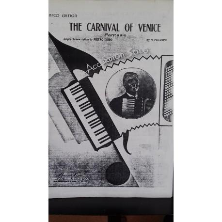 Carnival of Venice - accordion solo - Paganini, arr Pietro Deiro
