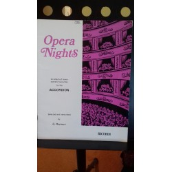 Opera nights 7 opera arrangements for accordion - G Romani