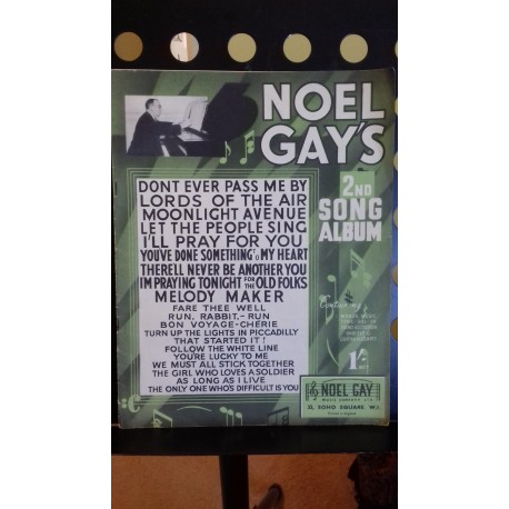 Noel Gay's 2nd song album vocal piano with chords