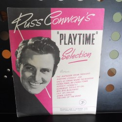 Russ Conway's Playtime selection piano, lyrics, chords