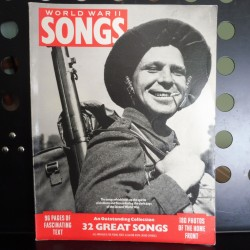World War II Songs - sheet music book